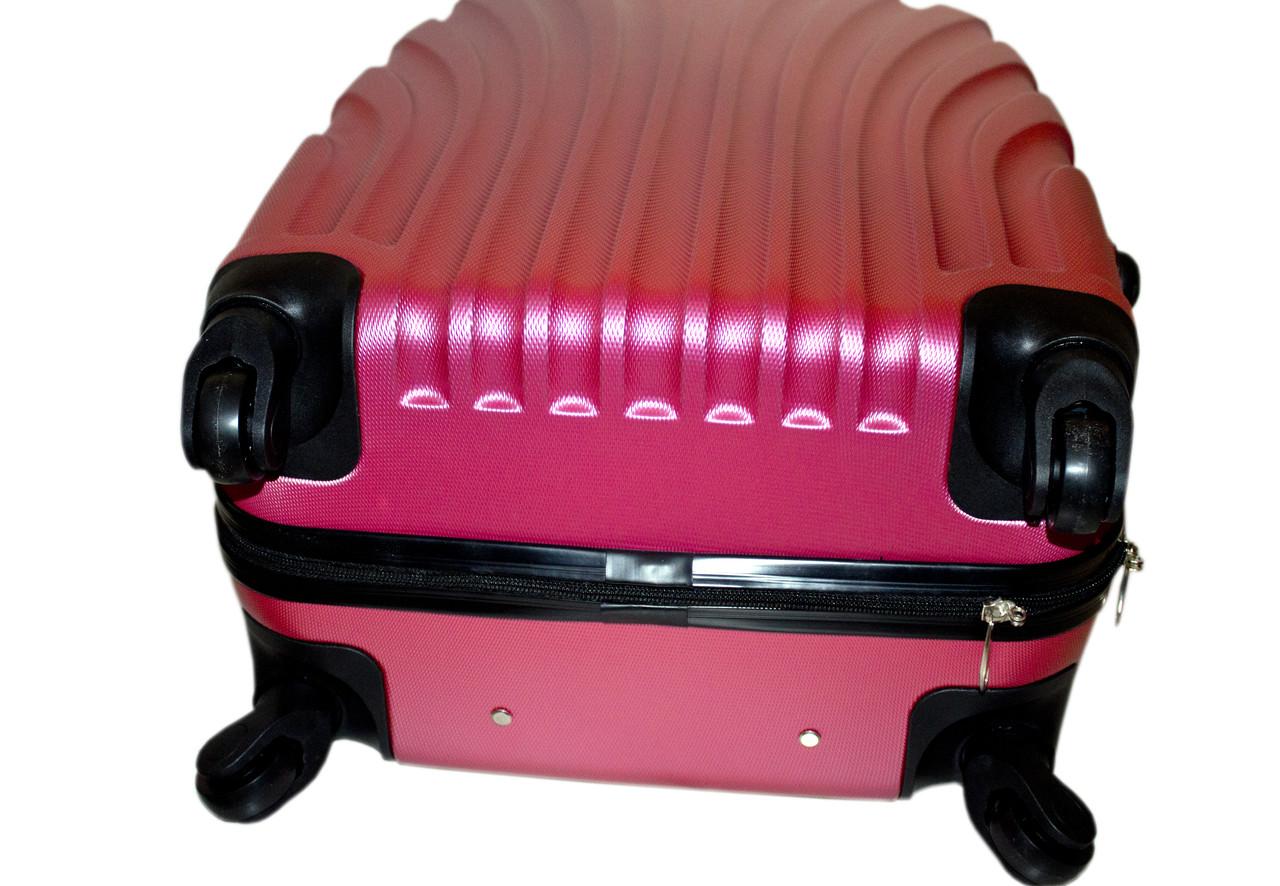 32e2fc5de71b ... фото Дорожный чемодан 4 колеса набор 3 штуки розовый, артикул  6-244,  ...