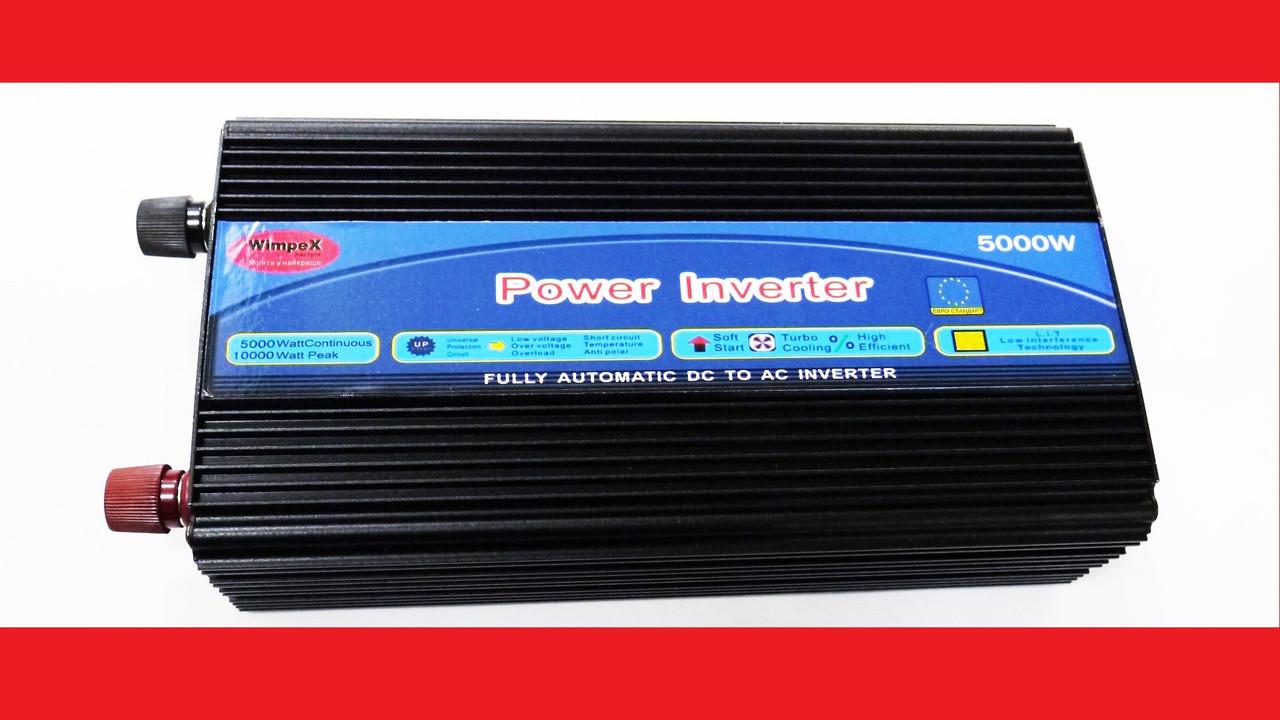 Преобразователь инвертор 5000W 12v-220v