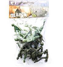 "Солдатики ""Пехота"" №1 COLOR plast 110*180( Ч )"