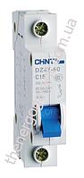 Автоматический выключатель CHINT DZ47-60 1р C16