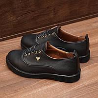 Женские туфли на шнуровке Viatu (7116.1) 37, 40