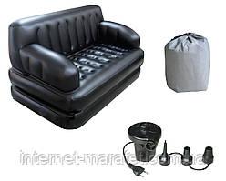 Надувний диван Sofa Bed 5in1