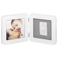 Baby Art Print Frame White & Grey Рамочка двойная (белая)