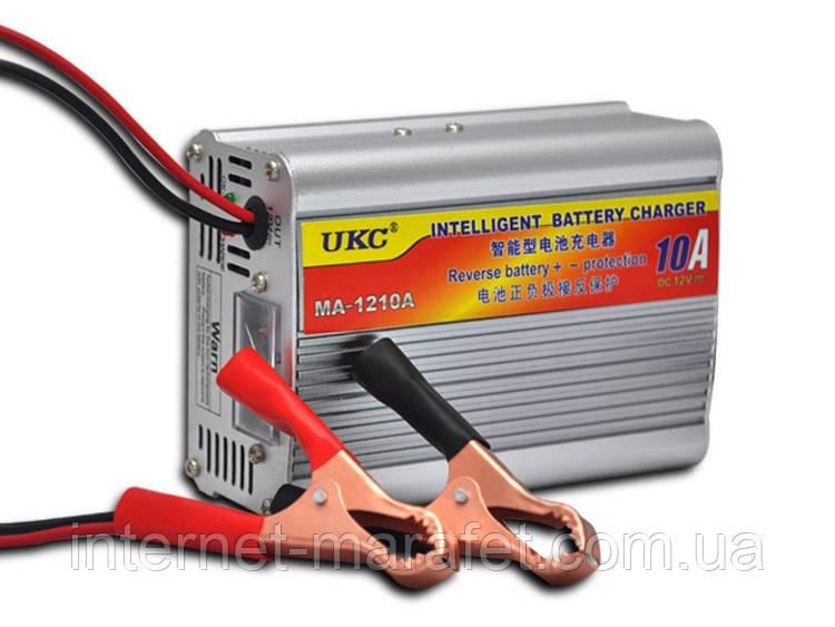 Автомобильное зарядное устройство UKC 10 Ампер