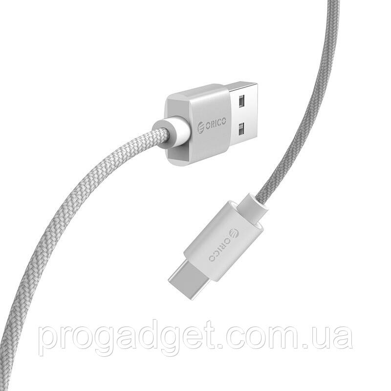 ORICO HTF-10sv data cable 1 м кабель USB-USB type C Quick Charge 3A Max 24 AWG