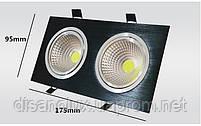 Светильник Downlight LED BR-002  20вт 230в  черный  3000К, фото 5