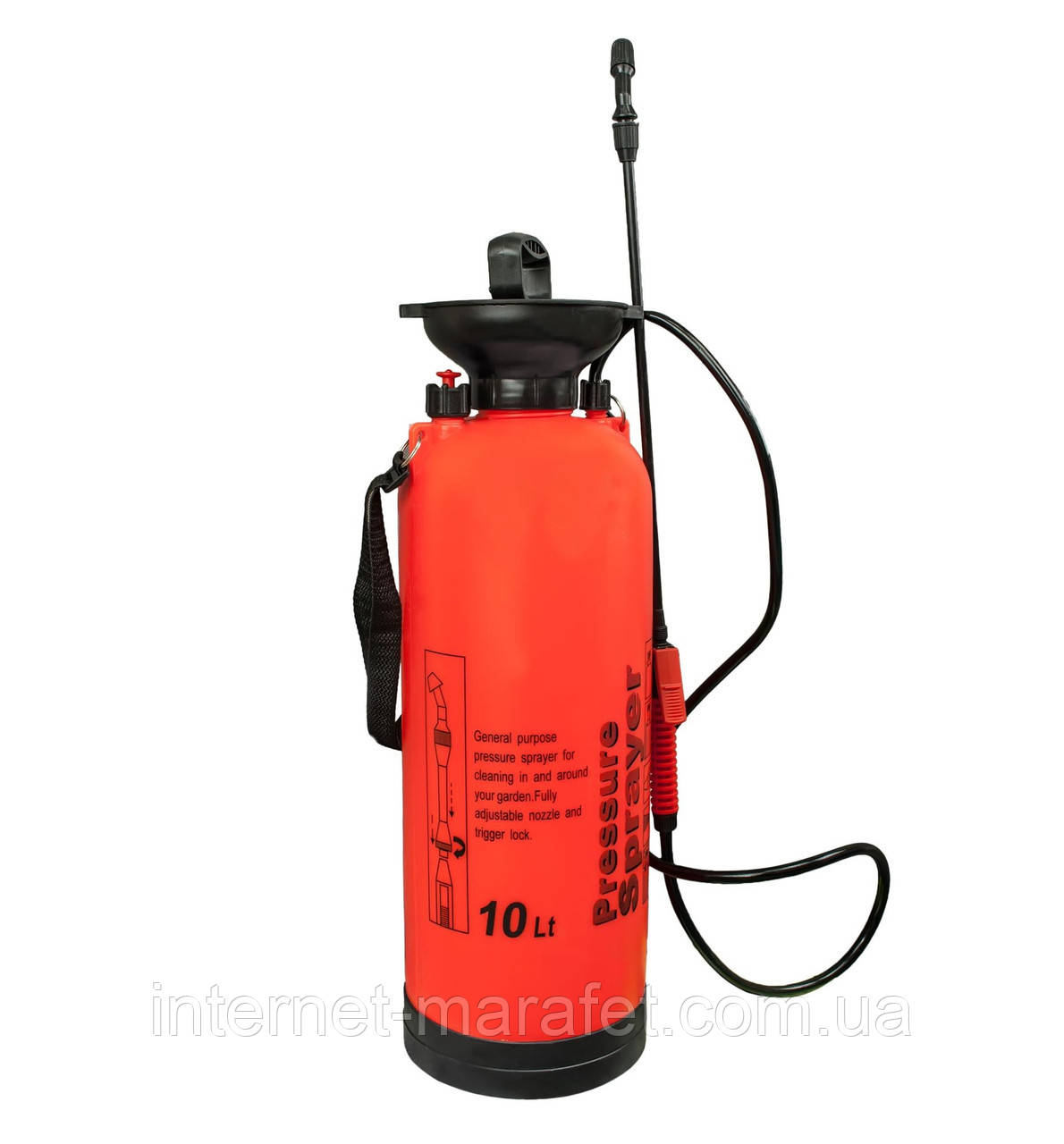 Ручной опрыскиватель Pressure Sprayer (10 литров)