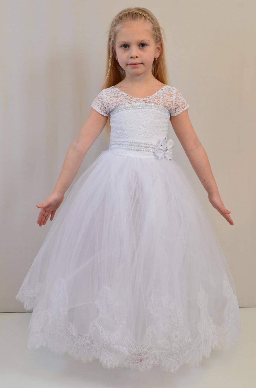 Детское вечернее нарядное платье для бала, утренника, выпуска