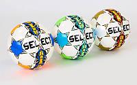 Мяч для футзала №4 SNAKE ST (5 сл., сшит вручную), фото 1