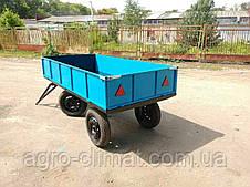 Прицеп тракторный 2,5х1,25 без колес, фото 2