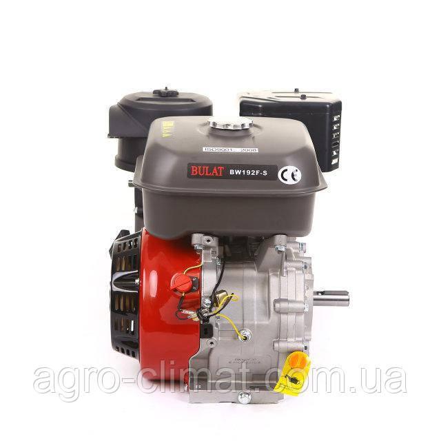 Бензиновый двигатель Bulat BW192F-S (шпонка,18 л.с. ручной стартер) (Weima 192)