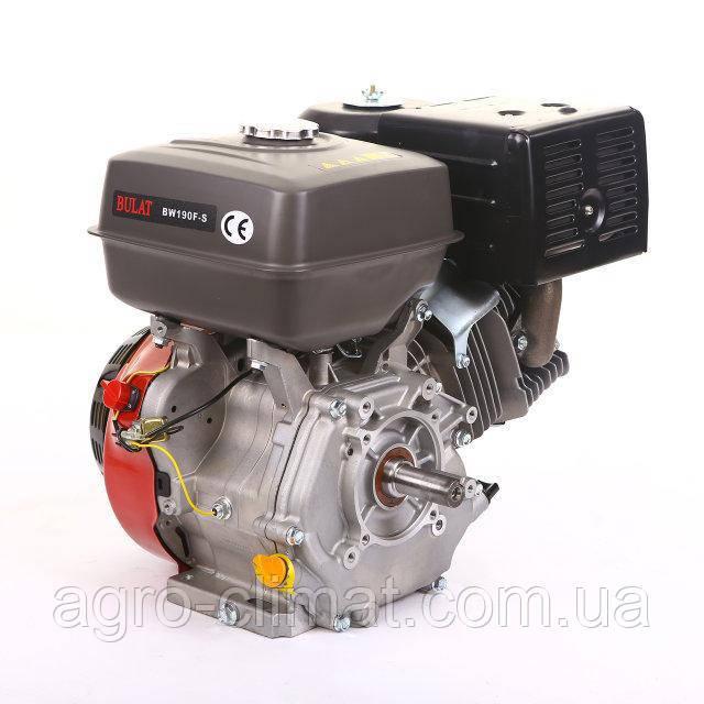 Бензиновый двигатель Bulat BW190F-S (шпонка, 16 л.с.) (Weima 190)