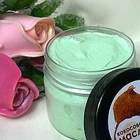 """Взбитое кокосовое масло для тела с ароматом  """"Персик, магнолия, малина и мята"""".., фото 1"""
