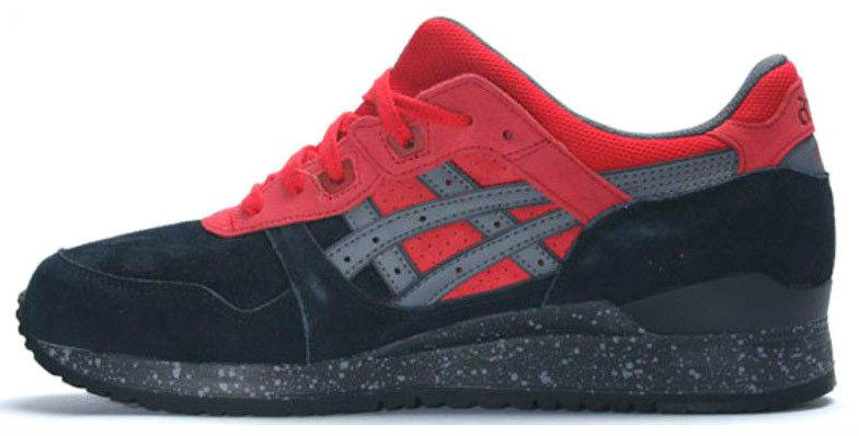 the latest 91617 5e8ed Asics Gel Lyte III Christmas Pack Black/Red | кроссовки мужские; красные