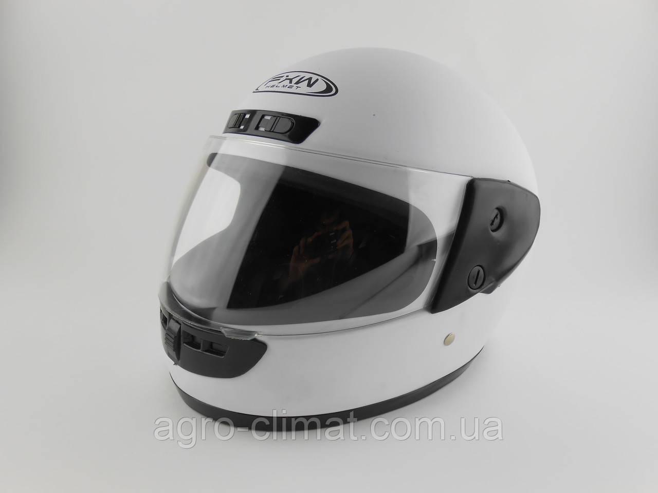 Шлемы для мотоциклов Hel-Met 101 белый глянец