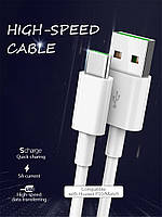 ORICO AC5-10 data cable 1м кабель USB-USB type C Quick Charge 3,0 5A Max 22 AWG