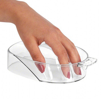 Пластиковая ванночка для маникюра прозрачная NeoNail