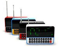 Мини-Колонка UBS-213 LED CLOCK с будильником.