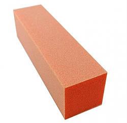 Баф для искусственных ногтей (оранжевый) 220 гритт NP