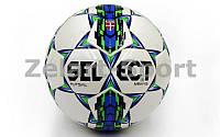 Мяч для футзала №4 Клееный-PU ST  MIMAS (белый)
