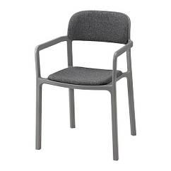 Стул IKEA YPPERLIG Гуннаред темно-серый 003.465.77