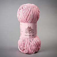 Летняя пряжа Vivchari Cottonel 400 м, розовый