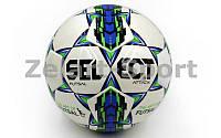 Мяч для футзала №4 Клееный-PU ST  ATTACK (белый)
