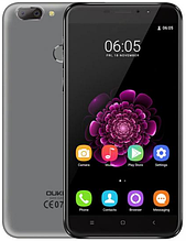 "OUKITEL U20 Plus gray  2/16 Gb, 5.5"", MT6737, 3G, 4G"