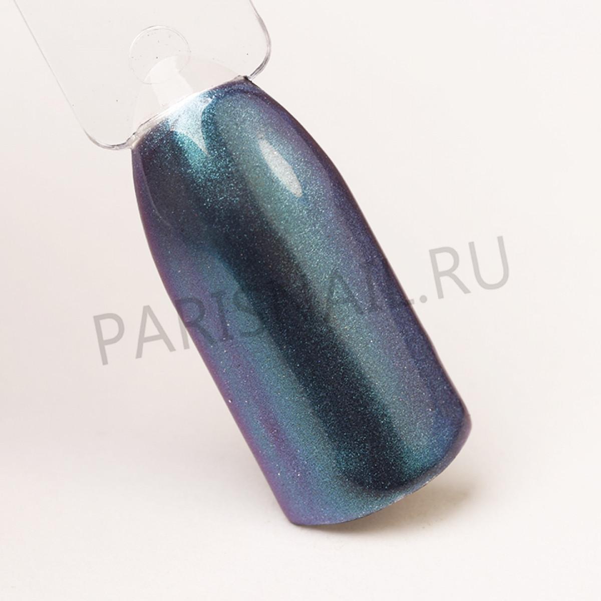 """Пигмент """"Изумрудный+фиолетовый+сапфировый с мелким шиммером"""", PG-23, LIANAIL"""