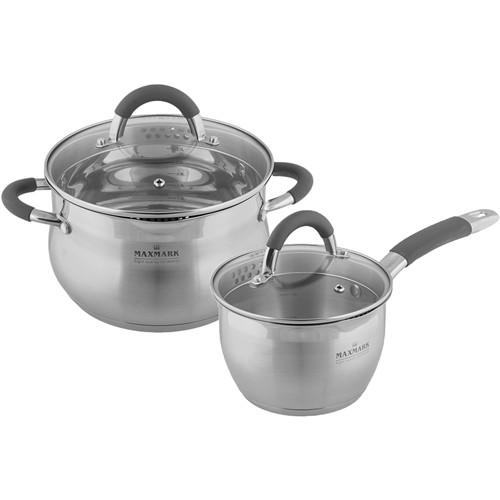 Набор посуды MAXMARK MK-SP5510A 3 л, 1.8 л
