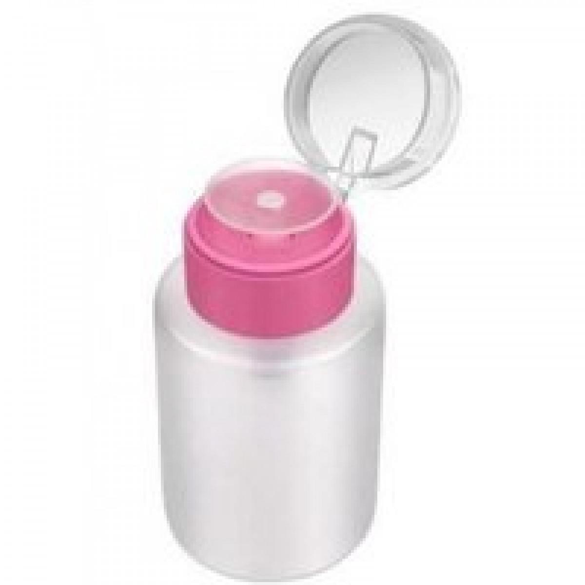 Помпа для жидкости с розовым горлышком