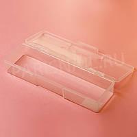 Пенал пластиковый, прозрачный