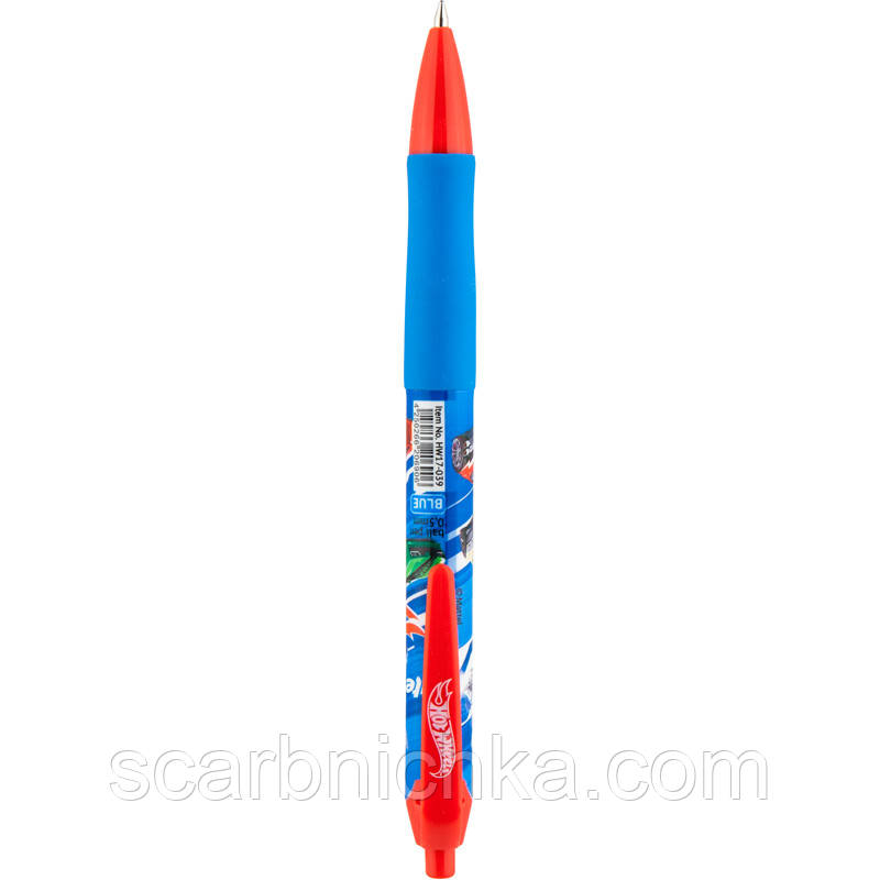 """Ручка автоматическая """"Kite"""" синяя HW17-039"""