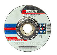 Диск абразивный зачистной по металлу Granite 8-04-186 180х6.0х22.2 мм (8-04-186)