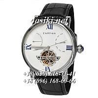 Часы Cartier Ronde de Solo Black-Silver-White