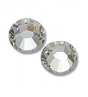 """Стразы """"Swarovski"""" 2058 Crystal (001)  серебряные /SS10 - 10шт"""
