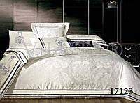 Постельное белье сатин-жаккард тиара 1723 Вилюта двуспальный евро комплект