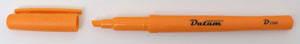 """Маркер """"Datum"""" текстовый 135мм D2360 оранжевый, фото 2"""