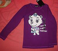 Реглан, кофта свитер  для девочки фиолетовый 100% хлопок 1982 Германия рост 128