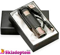 USB-устройство: зажигалка + бритва №4359