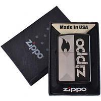 Зажигалка бензиновая Zippo в подарочной упаковке 4733-4