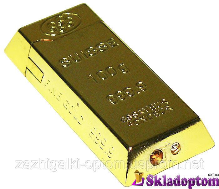 Зажигалка слиток золота 3508