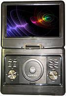 Портативный плеер DVD 1889 аккумулятор tv тюнер и usb