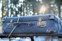 Практичный чемодан для зимних путешествий.