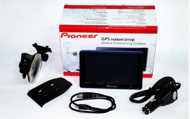 "GPS HD навигатор 5008 4gb Pioneer 800mHz 5"""