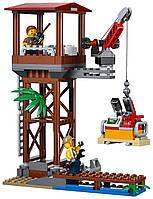 Конструктор детский BELA City Вертолёт для доставки грузов в джунгли 10713, 1250 дет.