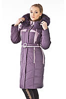 Пальто женское зимнее Lilas Пальто больших размеров батал