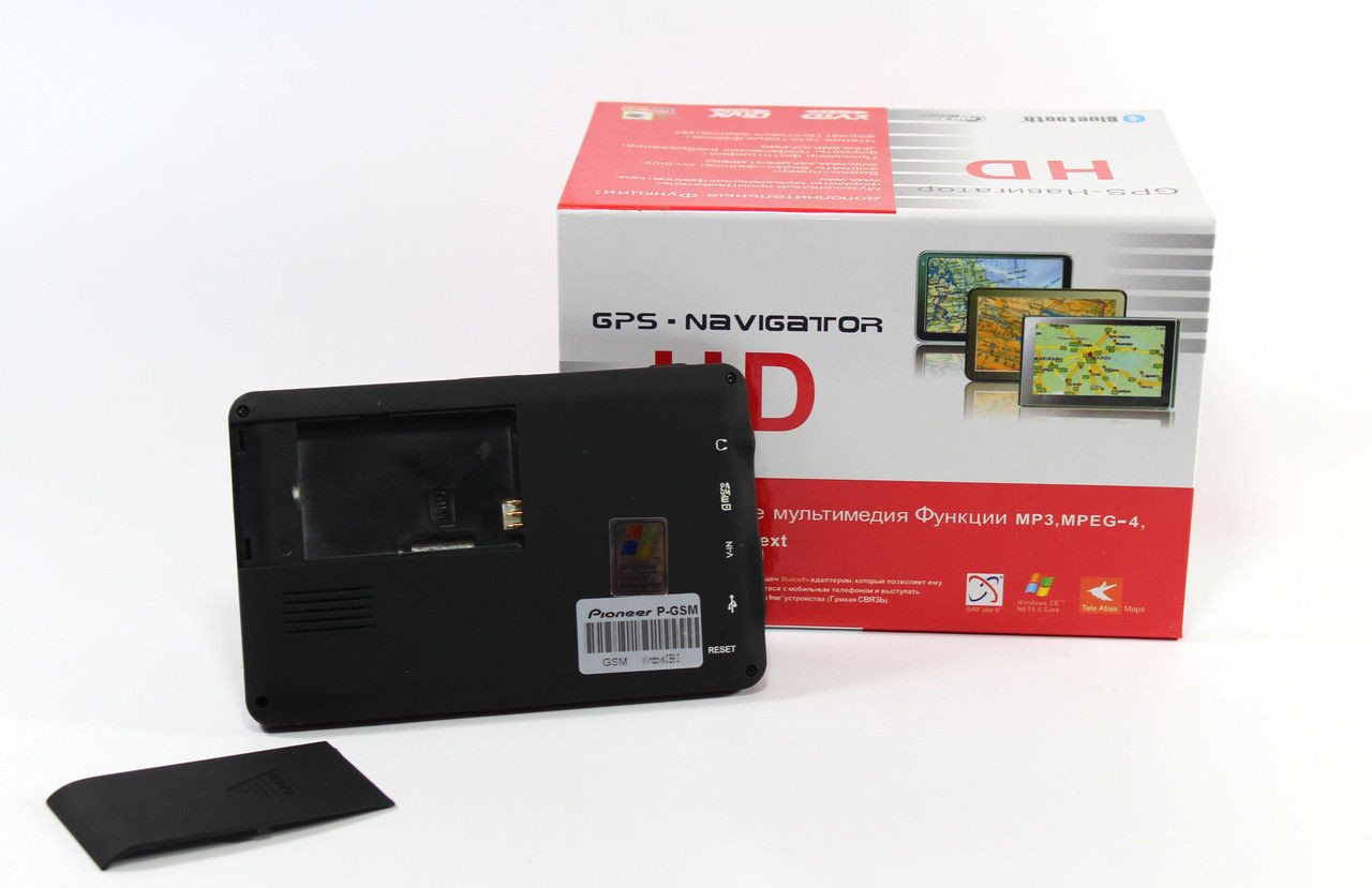 "Gps-навигатор Pioneer Навигатор 5"" P-GSM + GSM"