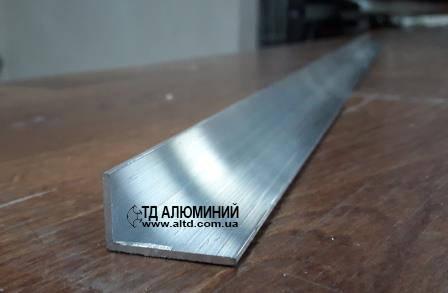 Уголок алюминиевый 25х15 х1.5 / без покрытия