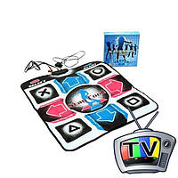 Танцевальный коврик для телевизора и ПК DANCE MAT PC+TV ТВ и ПК (RCA + USB)